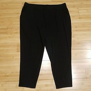 Any Wear by Catherines Slim Leg Ankle Knit Pant